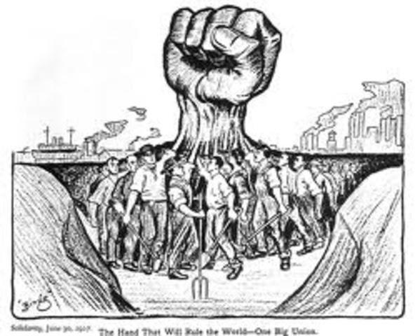 Labor timeline | Timetoast timelines