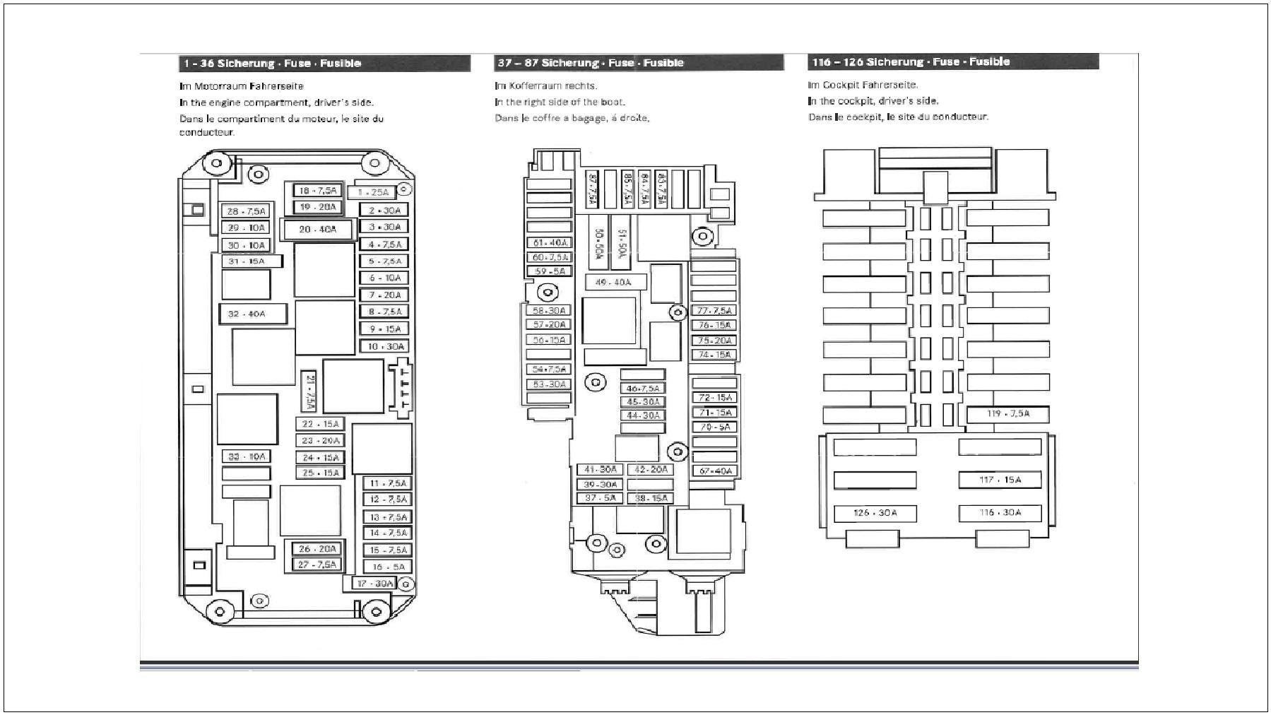Mercede C320 Wiring Diagram