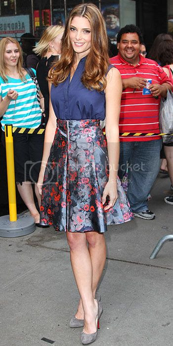 Ashley Greene Good Morning America Fashion Style