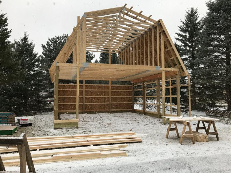 Pole Barn Garage Design and Construction Ann Arbor MI