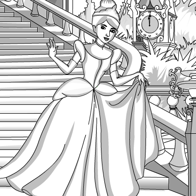 princess coloring games  coloring pages to print