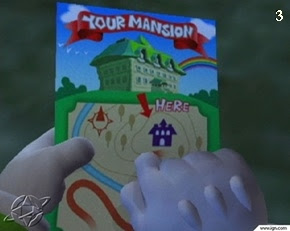 screen shot of Luigi's Mansion