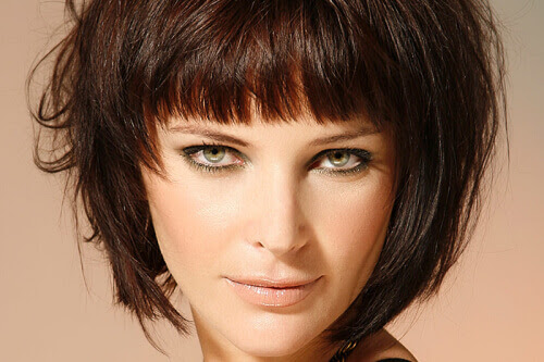 Short Layered Bob Hairstyles Front And Back View Hollywood Official