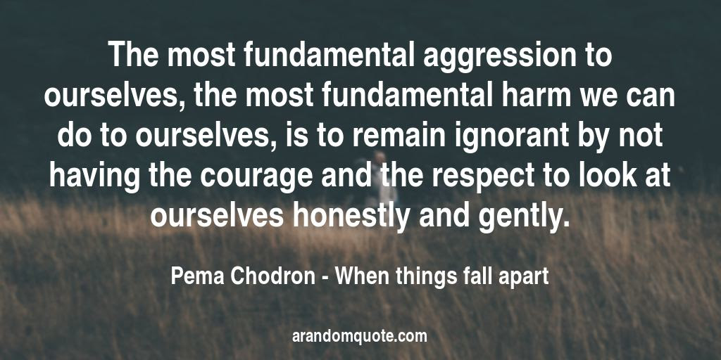 Best Image Quotes From When Things Fall Apart Book A Random Quote