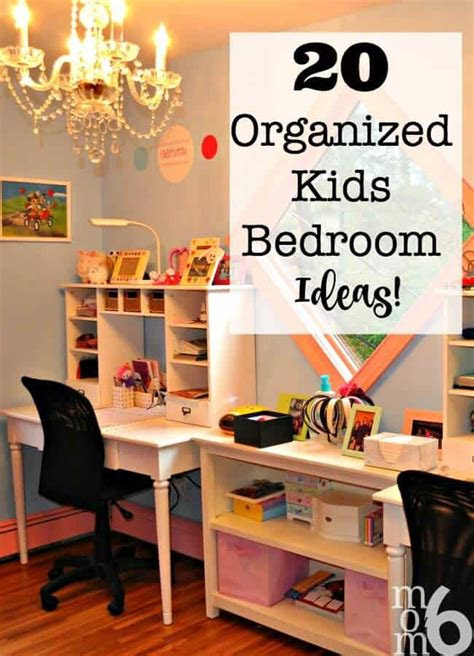 organized kids bedroom ideas momof