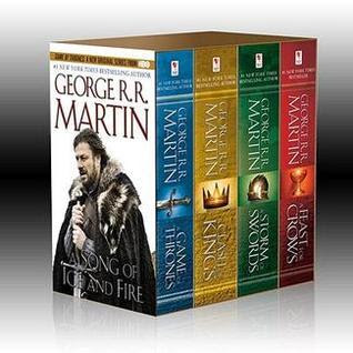 A Song of Ice and Fire: A Game of Thrones / A Clash of Kings / A Storm of Swords / A Feast for Crows