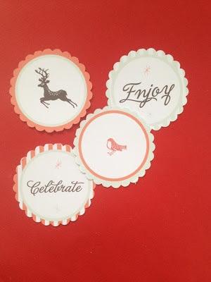 GOOD ON PAPER - Free printables - Vintage Deer Party Circle Tags