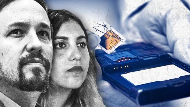 """Confirmado, Pablo Iglesias entregó a Dina Bousselham la tarjeta Micro SD """"parcialmente quemada"""""""