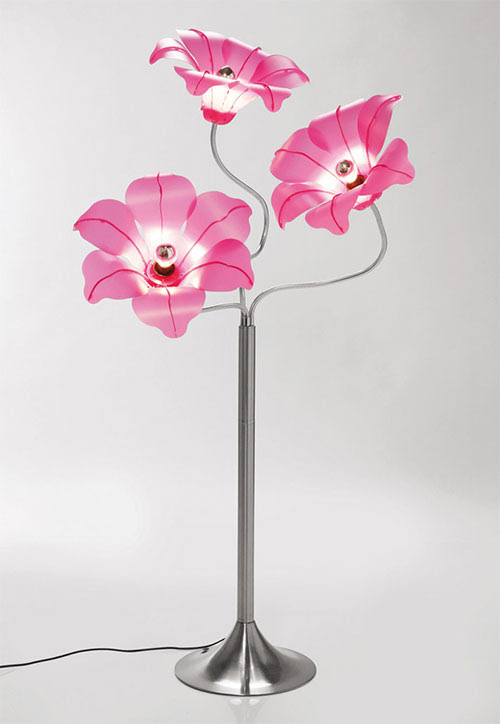 Swing Arm Table Lamp by Kare Design - Flower Shade