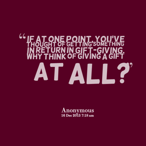 Christmas Gift Giving Quotes. QuotesGram