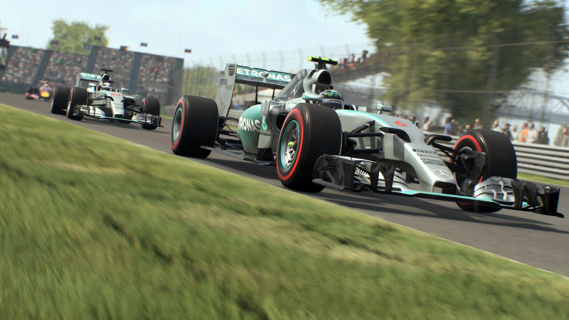 De babar! Nova galeria de imagens de F1 2015 dá gostinho do visual do jogo