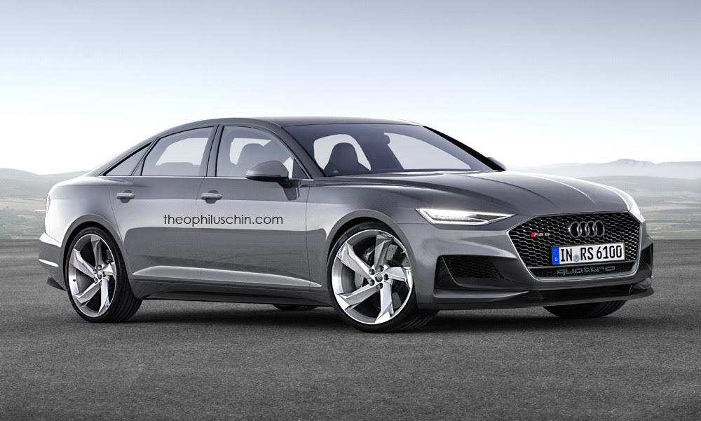 2019 Audi RS6 Avant and Sedan Rendered with Prologue Look ...