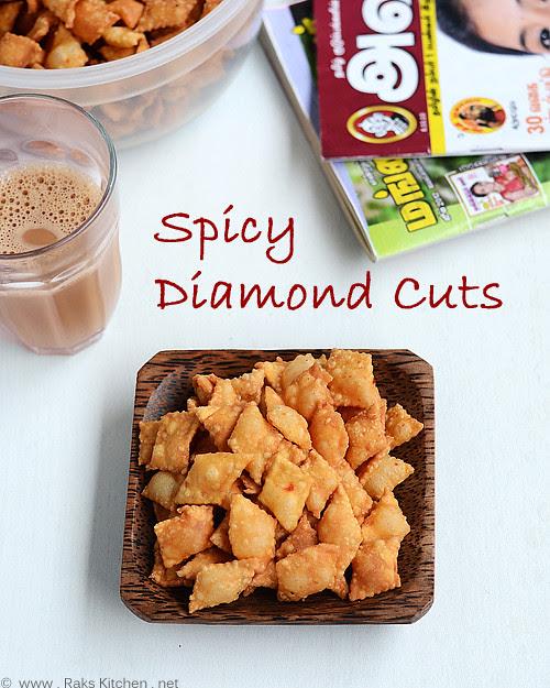 Spicy diamond cuts recipe maida khara biscuits easy diwali spicy diamond maida biscuits recipe forumfinder Gallery