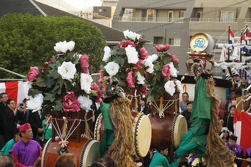 長崎くんち2012・玉園町・獅子踊