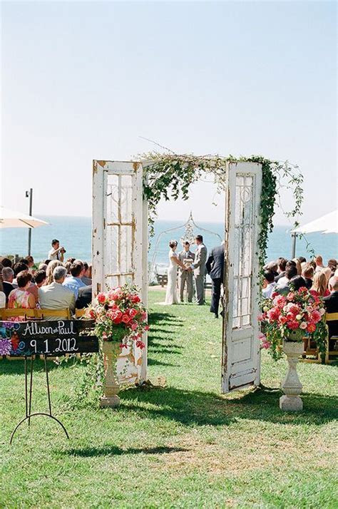 Unique Ceremony Decor Ideas You'll Adore   Weddingbells