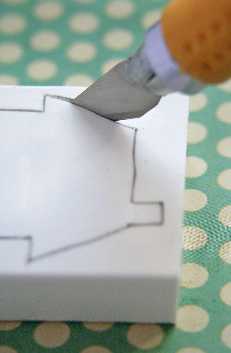 Eraser stamping 2