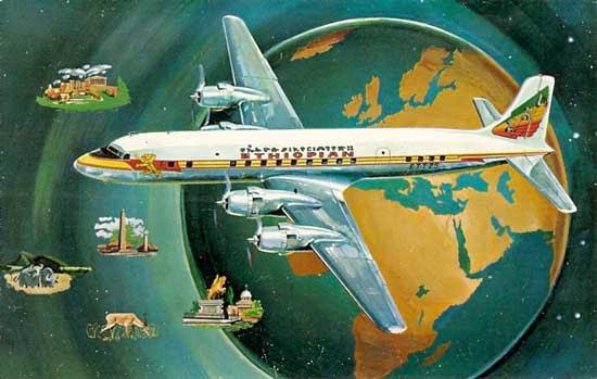 Ethiopian Airlines DC6