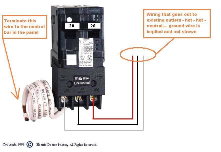 2p Gfci Breaker Wiring Diagram Wire An Schematic Diagram Delco Electronics Yenpancane Jeanjaures37 Fr