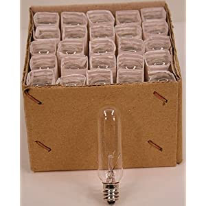 Amazon.com: Tubular Light Bulbs for Appliance, Chandelier, Wall ...