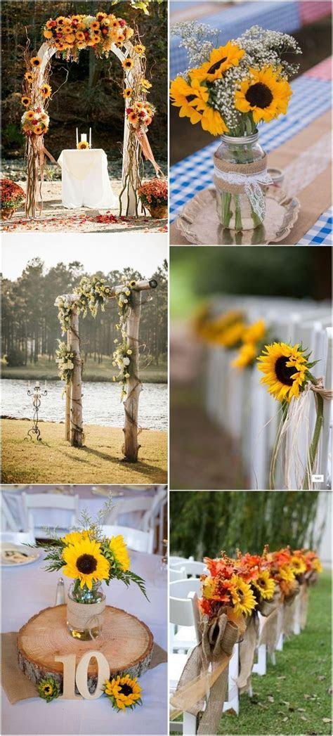 Best 25  Sunflower weddings ideas on Pinterest   Rustic