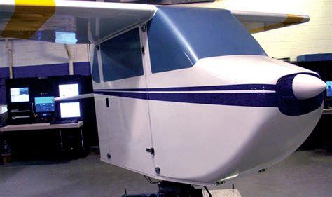 fixed wing flight simulator gat ii  aircrew training
