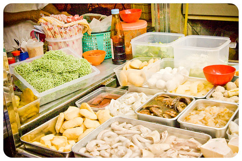 Ingredients for the chinese soup (by Christ tell)