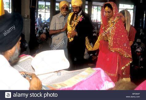 Sikh Wedding Gurdwara Stock Photos & Sikh Wedding Gurdwara