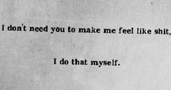 Quotes About Feeling Like Crap 19 Quotes