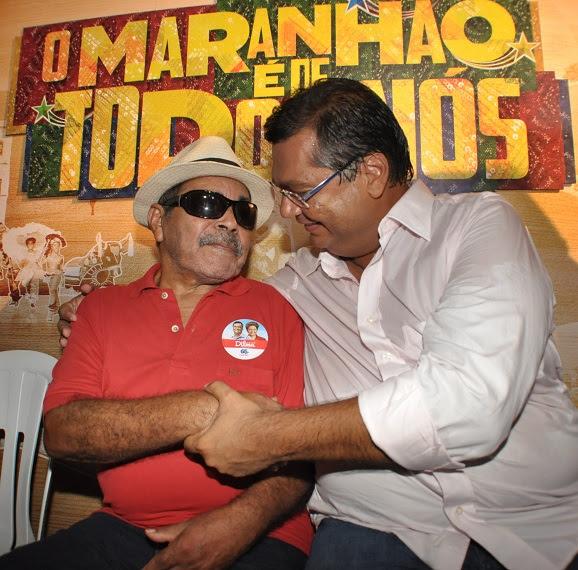 Flávio Dino e Manoel da Conceição - Foto de Francisco Campos