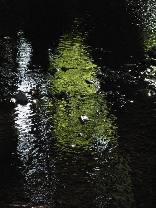 reflections on Son-i-Hat Creek, Kasaan, Alaska
