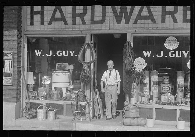 Hardware store, Marion, Ohio