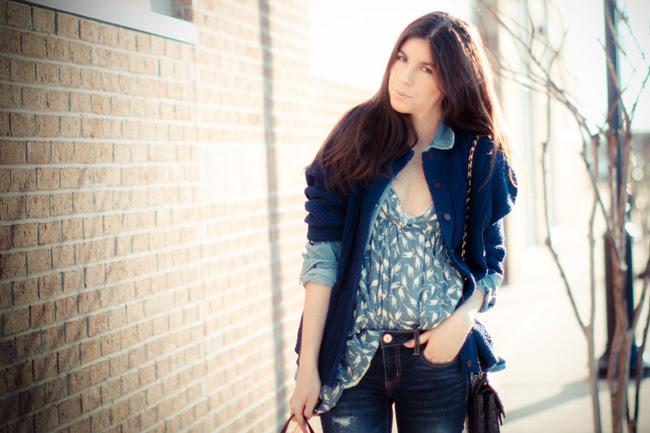 Chanel bag, American Eagle jeans, Topshop, Miu Miu fashion
