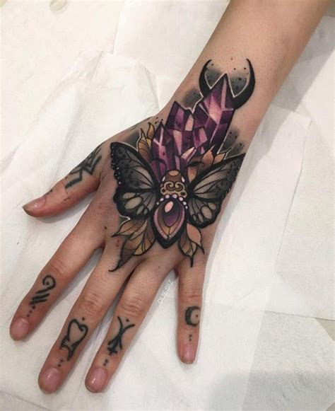 hand tattoos women cute tattoos girls hand