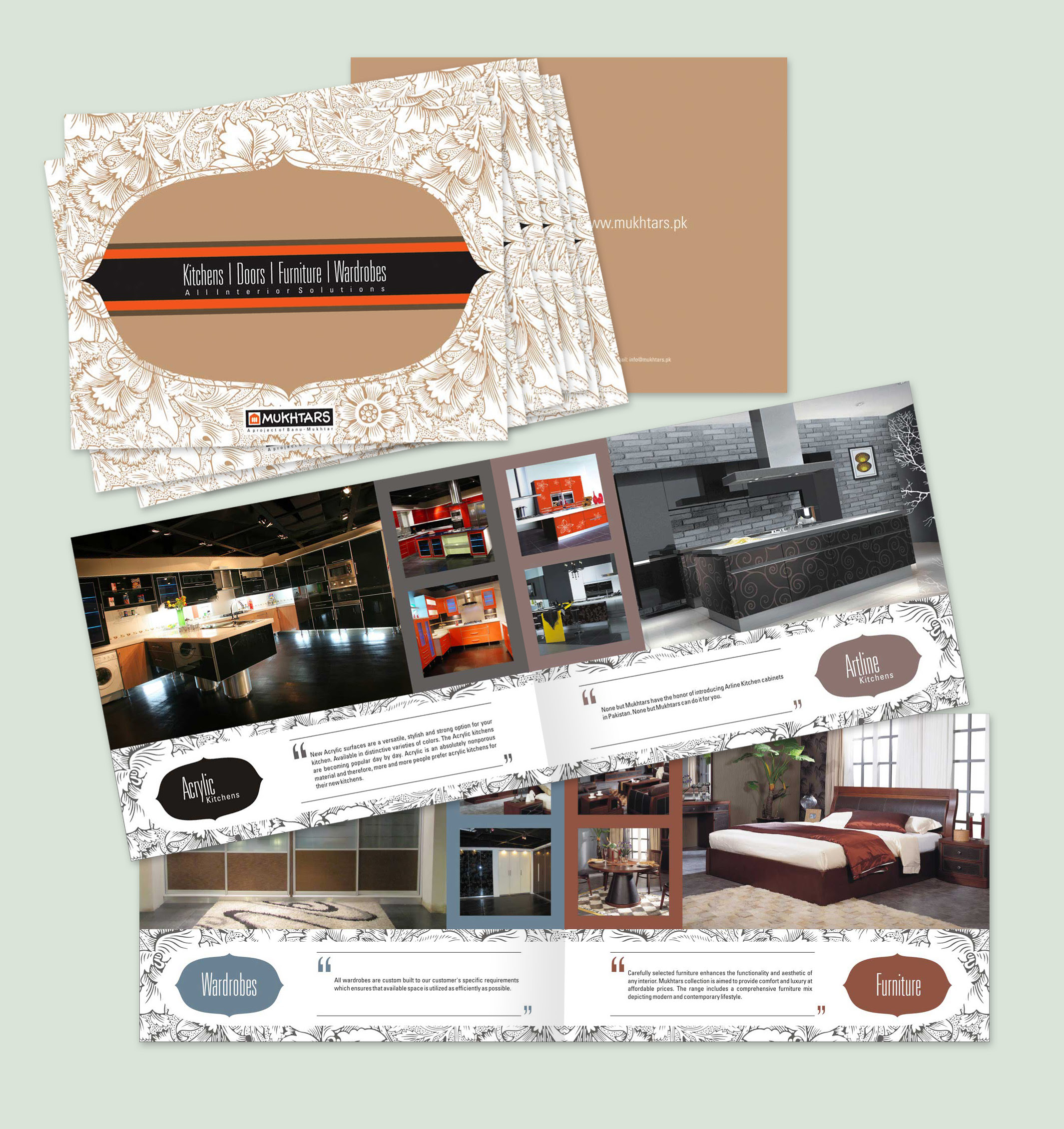 Interior design brochure-V101 ~ Brochure Templates on ...