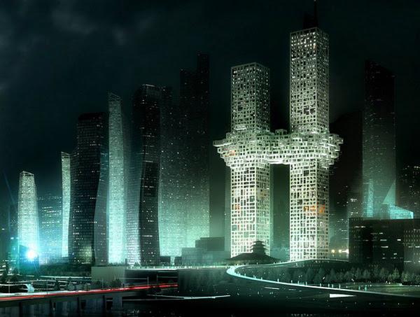 perierga.gr - Σαν τους Δίδυμους Πύργους της Νέας Υόρκης...