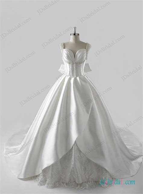 Luxury wedding dresses with Cathedral Train Jdsbridall