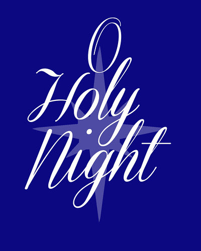 O Holy Night Free Christmas Printable