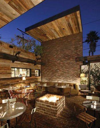 Best Outdoor Living Rooms: Living room - brown, blue on Outdoor Living 4U id=95329