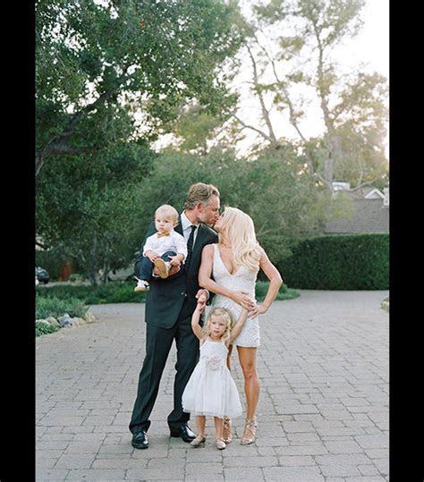 Jessica Simpson?s Wedding Photo with Eric Johnson & Their