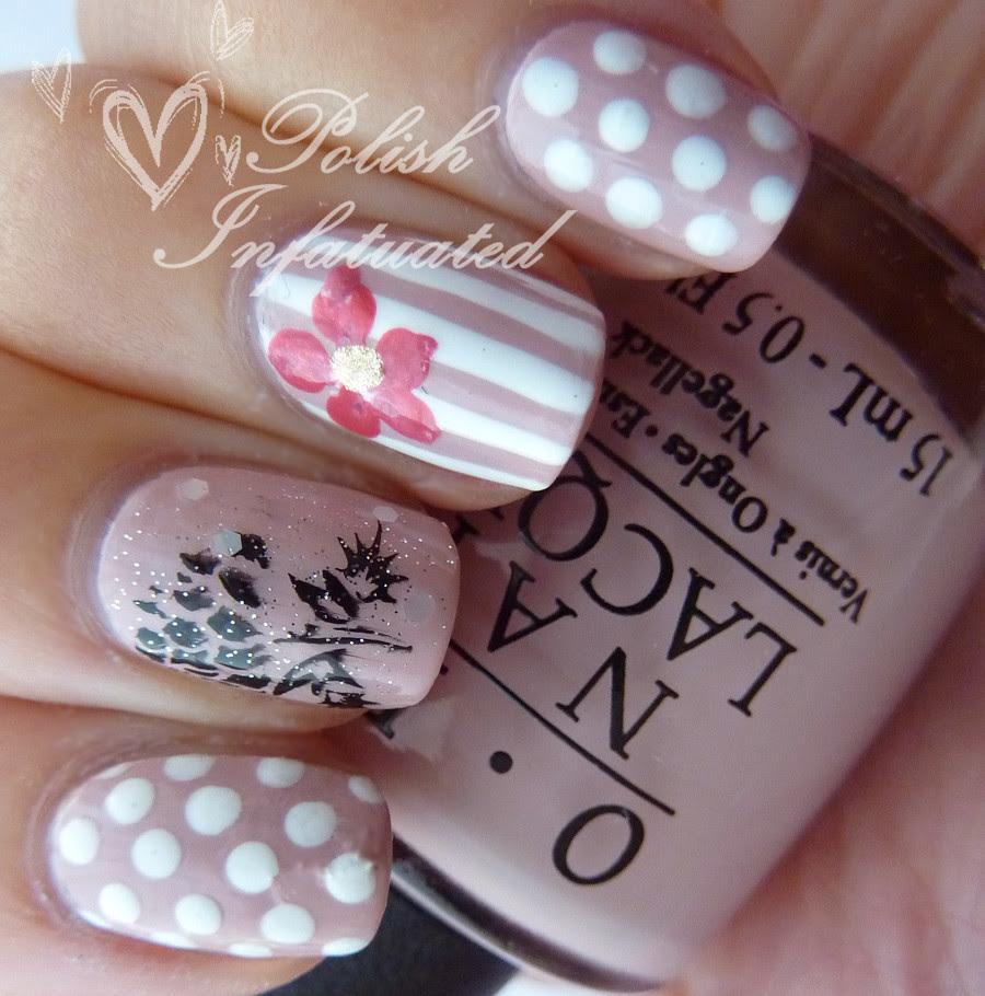 polka dot, stripes and flowers3