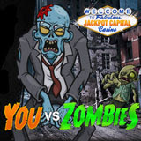 Everyone Can Win on Zombie Walk at Jackpot Capital Casino and Mobile Casino