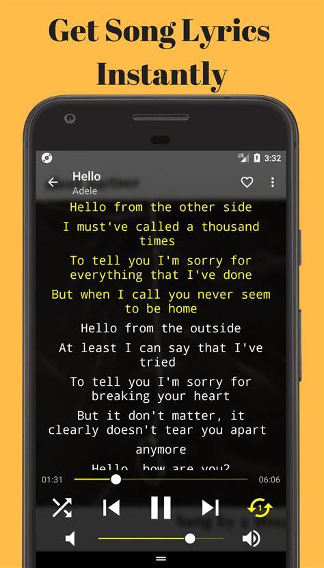 offline lyrics  playermusic  lyrics app