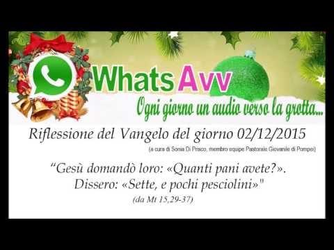 WhatsAvv  | Il Santuario Di Pompei Lancia Il Vangelo Sul Cellulare