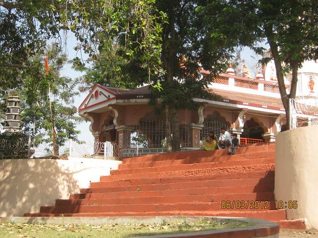 Family at Shri Mhatoba Devasthan Mandir Wakad Pune 411 057
