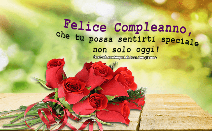 Frasi Per Compleanno Speciale