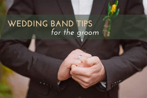 7 Essential Tips for Choosing the Groom's Wedding Ring