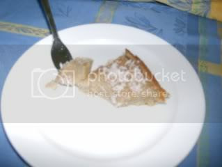bolo queijada de cococ e laranmja