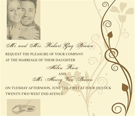 Wedding Invitation Tutorial