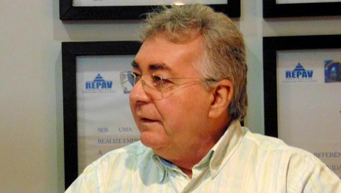 Marco Antônio Fernandes presidente do Potiguar de Mossoró (Foto: Marcelo Diaz/Divulgação)