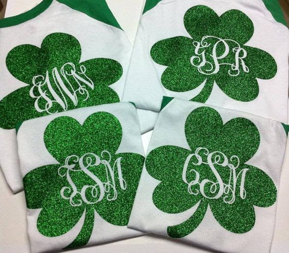 Erin Go Glitterflake For St Pats Day 2016 Ted Stahls Blog